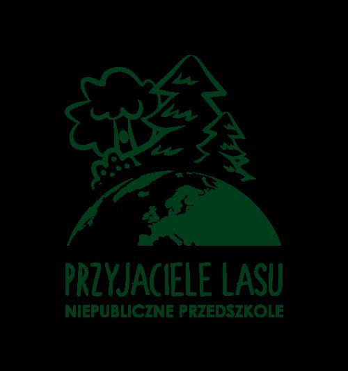 """Logo przedszkola """"Przyjaciele Lasu"""""""